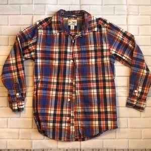 Boys long sleeve button up shirt